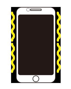 アイフォンバイブ修理