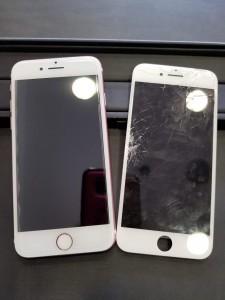 大阪府泉南 iPhone6 ガラス修理 A.T様