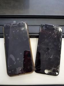 iPhone6 ガラス割れ 貝塚市T・K様