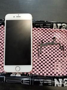大阪府貝塚 iPhone6s マナーボタン修理